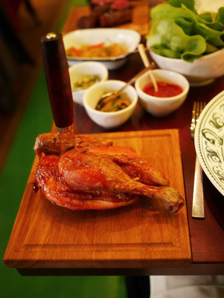 grill del mundo Jospern kyckling grillad