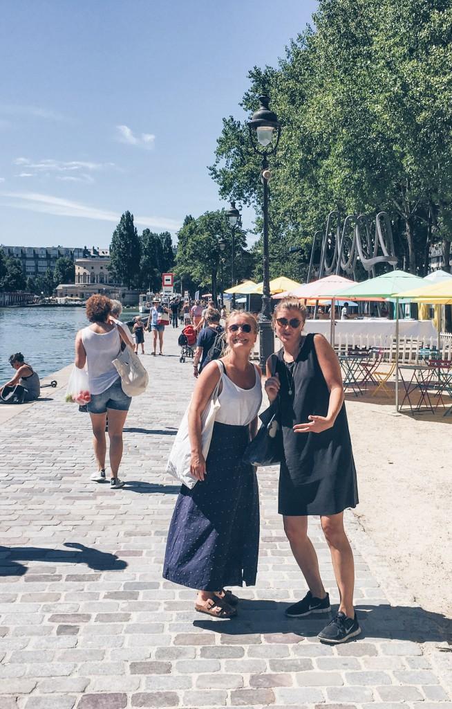 Paris Plage bassin de la villette