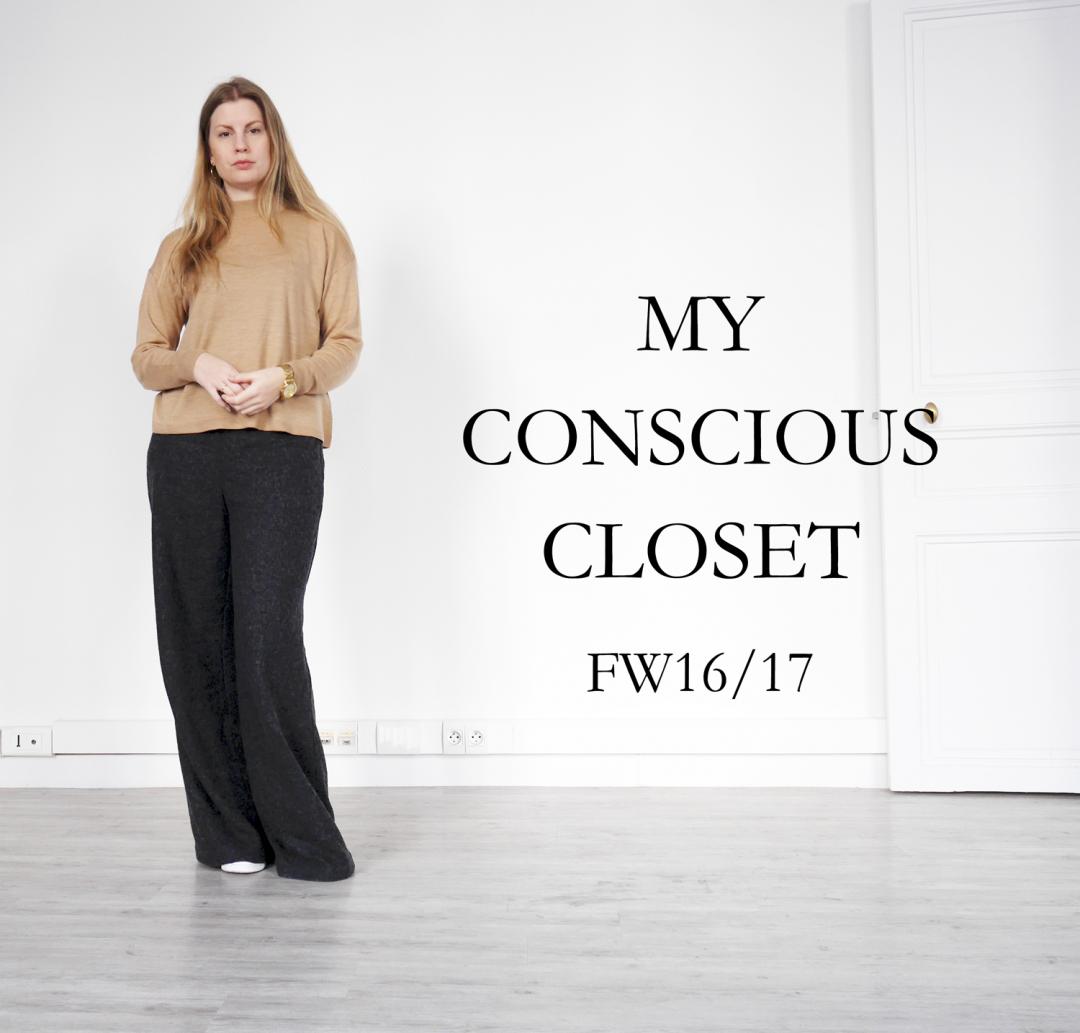 Conscious closet