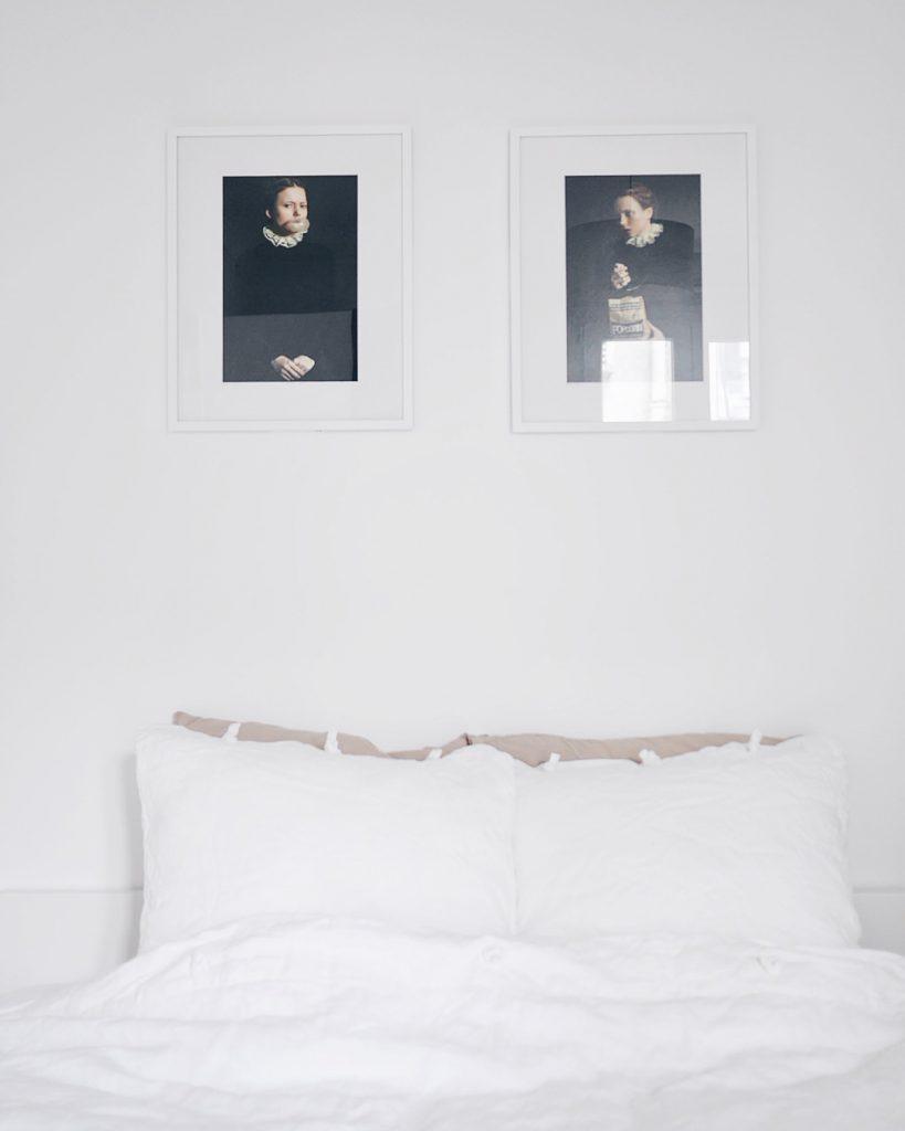 tavlor säng