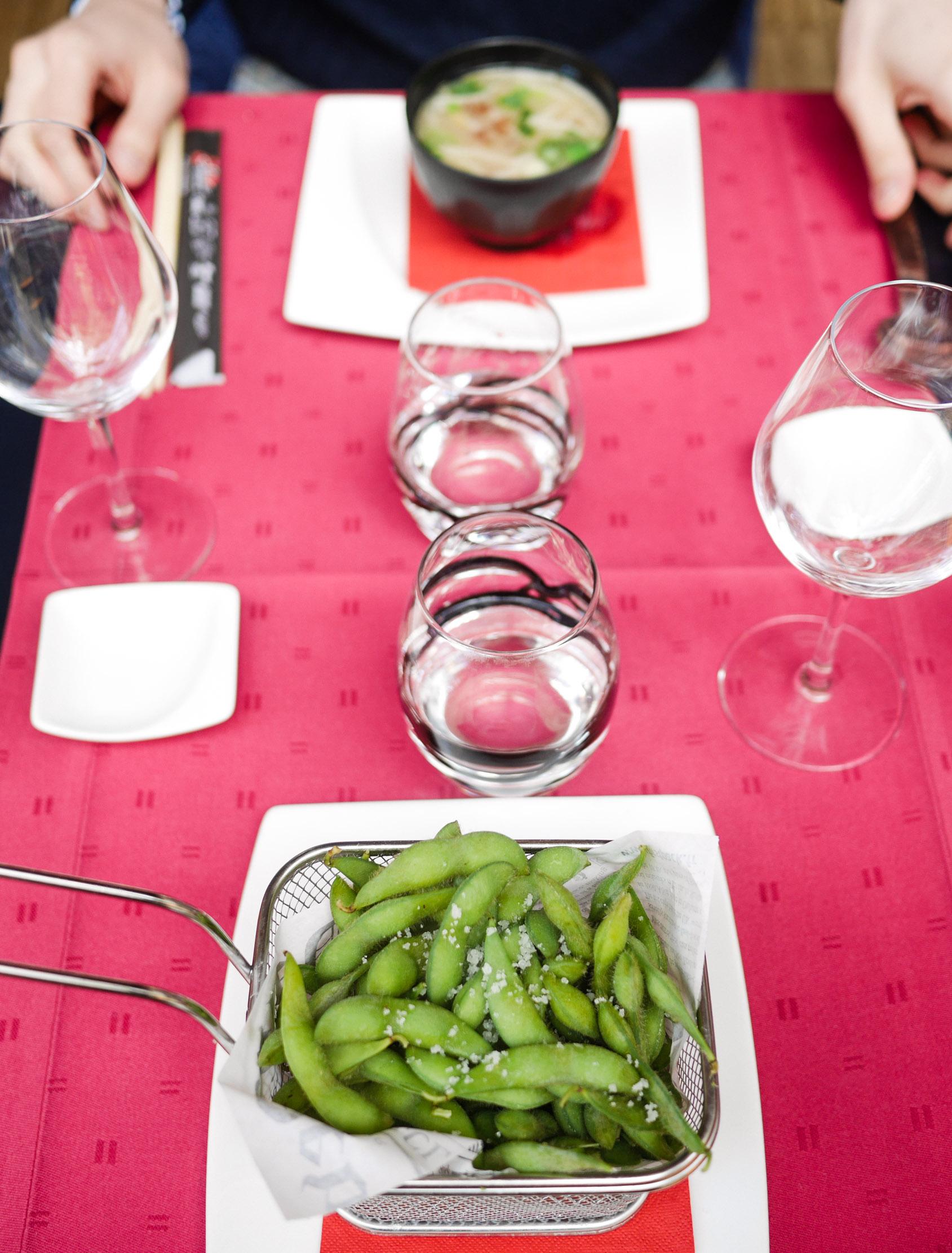 S ndagsprommis i lux balkongmiddag och sushilunch for Aka japanese cuisine