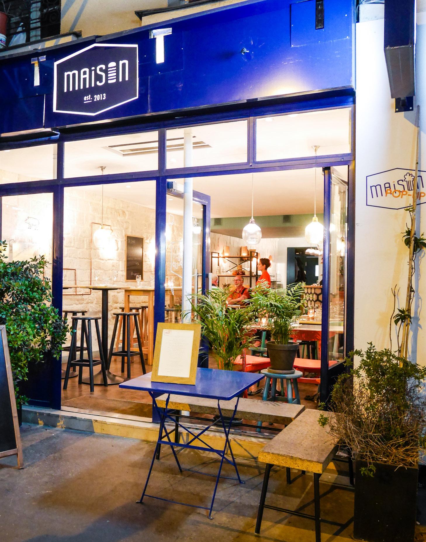 sommarkv ll i paris rooftop bar maison burger pop up sandra nicole. Black Bedroom Furniture Sets. Home Design Ideas